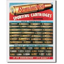 Anuncio Tipo Antiguo Remington Cartuchos Deportivos Retro