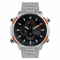 Relógio Orient Masculino Dual Time Mbssa044 Posx - Original