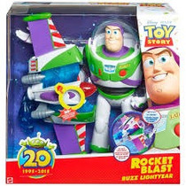 Buzz Lightyear Toy Story Turbo Jato + 30 Frases Mattel