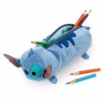 Disney Store Stitch Lapicera Tsum Tsum Felpa 20cm Nuevo
