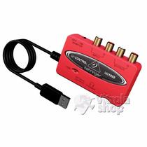 Interface Audio Behringer U-control Uca222 Usb Garantia Nota