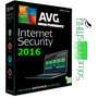 Avg Internet Security 2016 - Licencia Hasta Febr-2018 1 Pc