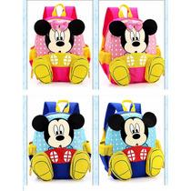 Mochila Mickey Mause Minnie Mause Kinder