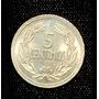 Moneda Antigua De Venezuela. Locha De 5 Centimos Año 1964