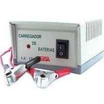 Carregador Bateria Domestico Automotivo 12v .3a Bivolt.9027