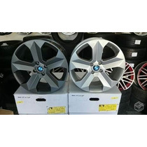 Jogo Roda Bmw X6 Aro17 Prata/grafite Fiesta Corsa Gol +pneu