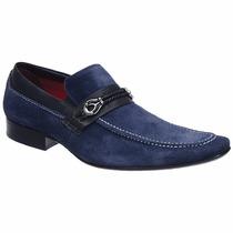 Sapato Masculino Solado De Couro Rollians