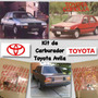 Kit Carburador Toyota Corolla Avila 85/89
