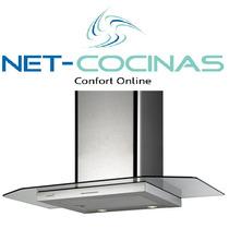 Campana De Cocina Cata Serie Pv Cristal 600mm- Envios Gratis