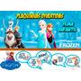 Placas Divertidas / Plaquinhas Aniversário: Tema Frozen