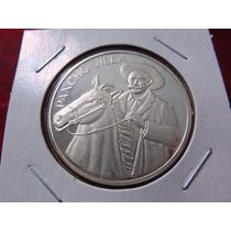 Moneda Medalla Onza Pancho Villa