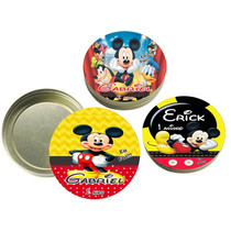 40 Latinhas Mickey Personalizadas Lembrancinhas Infantis
