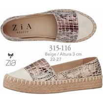 Zapatos Zia Para Dama Color Beige V