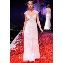 Vestido Novia Nuevo De Diseñador, Pasarela High Couture