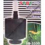 Filtro Para Acuario Sobo Sb-3330 Tipo Esponja Grande Peces