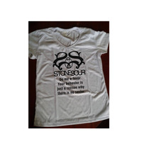 Camiseta Baby Look Stone Sour - Do Me A Favor