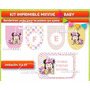 Kit Editable Minnie Baby - Deco - Candy Y Photo Booth