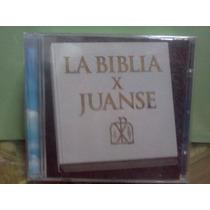 Juanse La Biblia Vox Dei Cd Sellado Original Nuevo