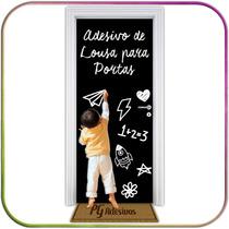 Adesivo Lousa Decorativo P/ Porta Geladeira Parede Moveis