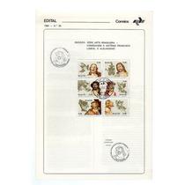 1980 Edital 29 C/selos C-1177/82 Aleijadinho Esculturas