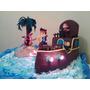 Torta Jake Y Los Piratas De Nunca Jamas