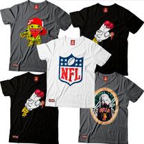Camisa Camisetas Chicago Ny Bulls Raiders La Lakers Nfl Swag