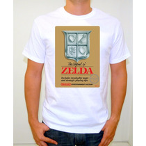 Zelda Nes Playera Gamer Retro Nintendo The Legend Of Zelda B