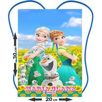 50 Mochilinhas Bolsinha Sacolinhas Personalizadas * Frozen