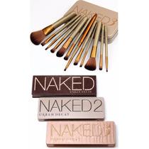 4 Peças, Naked 1 + Naked 2 + Naked 3 + Estojo Naked 3 C/12 P