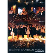 Dvd Cânticos Vocal - Jerusalém.