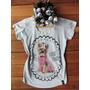 Camiseta Feminina T-shirt Blusa - Cachorro