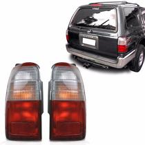 Par Lanterna Toyota Hilux Sw4 96 97 98 Bicolor Depo