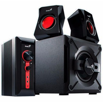 Parlantes Genius Gx Sw-g2.1 1250 38w Rms | Pc Notebook Gamer