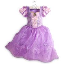 Vestido Disfraz Princesa Rapunzel Original Disney Store