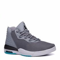 Tenis Nike Jordan Academy Cool Grey Black Pure Platinum 2016