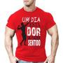 Camisa Camiseta Um Dia Masculina Malhar Academia 20% Off