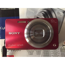 Cámara Sony Dsc W690-rojo Impecable Oportunidad !!!
