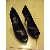 Zapatos Stilettos De Vestir 40. Semiabiertos. Brazil. Arezzo