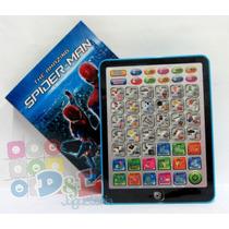 Tablet Infantíl Spiderman Didáctica Interactiva Piano Dde $1