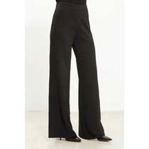 Pantalón Palazo T 46 Al 52. Solo Negro $ 960