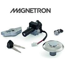 Kit Conjunto Travas/ Chaves/ Ignição Honda Cb 300r Magnetron