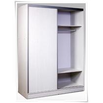 Placard Completo 180 2 Puertas Corredizas Perf Aluminio