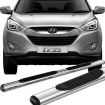 Estribo Oblongo Hyundai Ix35 2011 /... - Cromado