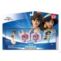 ..:: Disney Infinity 2.0 Toy Box Set: Aladdin Y Jazmin ::..