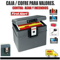 First Alert Cofre Para Valores, Impermeable Contra Incendios