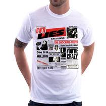 Camiseta Guns N Roses Gnr Lies Camisa