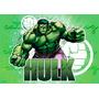 Hulk Papel Arroz A4 20 X 30 Cm