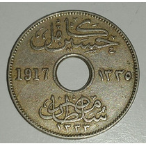 Moneda Egipto 5 Milliemes 1917 *045