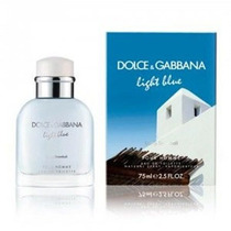 Perfume Light Blue Living Stromboli D&g Caballero 125 Ml