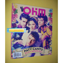 Paty Cantu Revista Ohm 2012 Gay Magazine Mexico